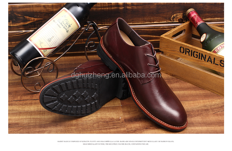China Supplier Custom Made Soft Leather Men Dress Shoes