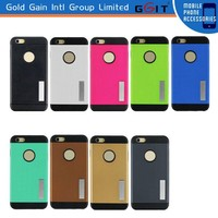 Armor Case for iPhone 6 Plus,PC +TPU Hybrid Kickstand Case for iPhone 6 Plus