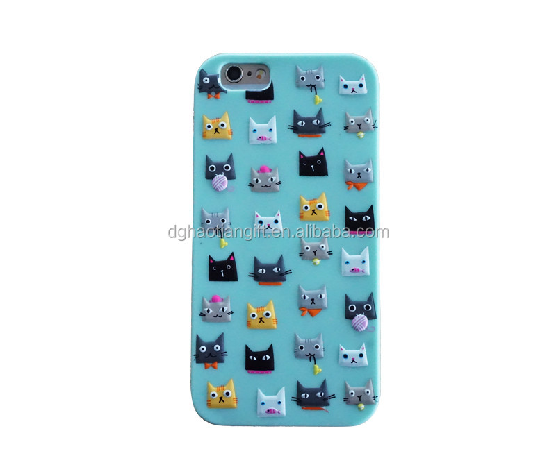 Disney audited factory innovation 2D colors customize Cell Phone Silicone Cover