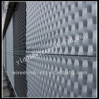 decorative expanded metal mesh exterior wall panels