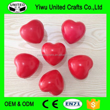 heart shaped PU anti stress ball , pu toy super ball , cute stress ball