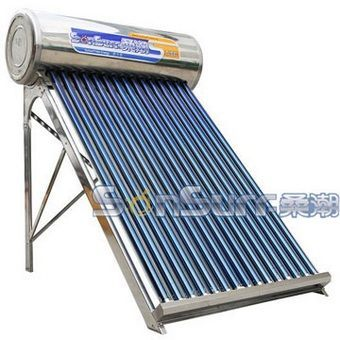 SunSurf New Energy SC-R01 stainless steel gravity solar water heaters