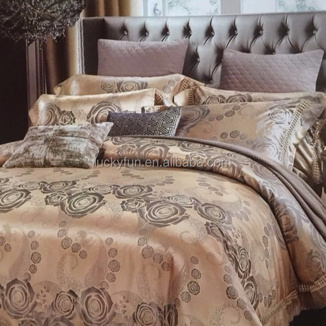 100 % cotton Home Textile 4pcs Bedding <strong>Set</strong> Jacquard Bed Sheets <strong>Set</strong>