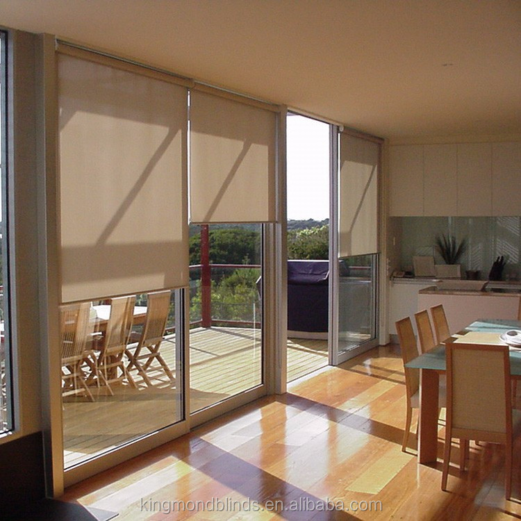 China OEM Wholesale Blinds Factory High Quality Cheap Thermal Roller Blinds For Sliding Glass Doors, Shutter Blinds