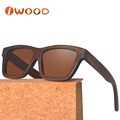 Wholesale China Discount Fast Shipment Bamboo Sunglasses with Polarized Lens