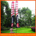 Durable screen printing custom printed feather flags with x bases