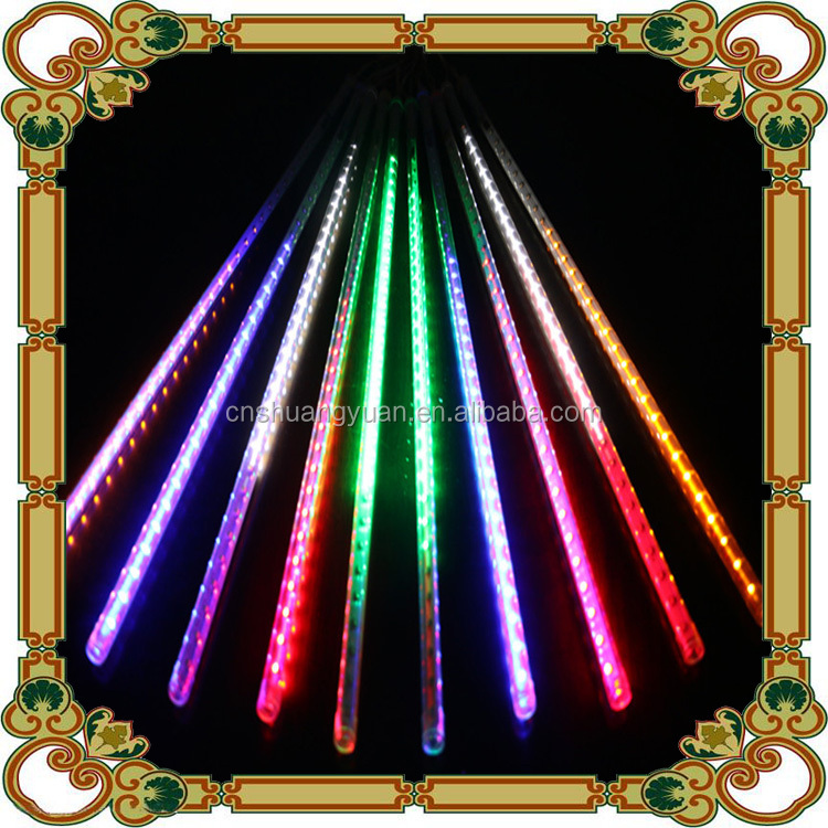 Wholesale 20/30/50cm outdoor Christmas LED Meteor Shower Tube Snowfall Lights