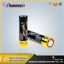 Latest style factory directly aa lr6 am3/um3 1.5v battery