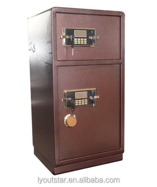 Wardrobe hidden wall electronic lock safety locker money deposit safe box