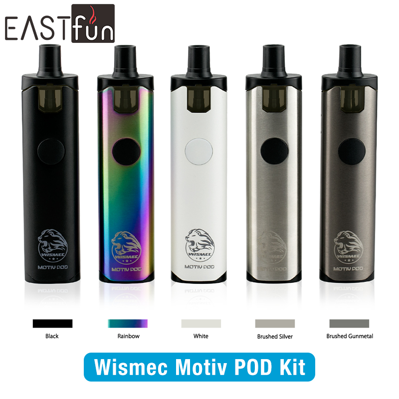 2017 trending ecig wismec motiv pod kit with 7ml tank, AIO vape pen motiv pod kit wismec with 4ml replaceable cartridge