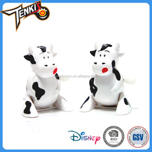2017 hot selling high quality ABS material wind up cow toy for Christmas