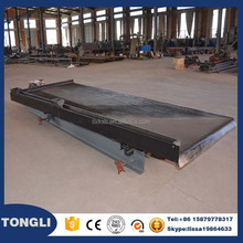 Small tables for gold sand ore recovery with shaking table centrigugal concentrator underground coal mining equipment