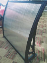 Easy DIY Polycarbonate Hollow Sheet Window Outdoor Canopy/ Awning