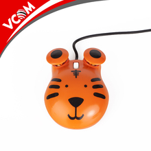 High quality mini animal model cartoon children laptop computer mouse for kids