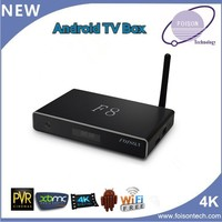 Hot selling HD 1080P 3D Quad Core Android 4.4.2 TV Box, Amlogic S812 Dund WiFi A9 Smart TV Box, 4k android media player