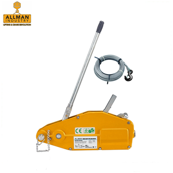 China made heavy duty lifting and material handling equipment Wire Rope Puller Hoist (WRP 0.8ton to 5.4ton capacity )