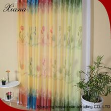 Famous Brand Home Textile Grommet Panels Sheer design Window Curtain
