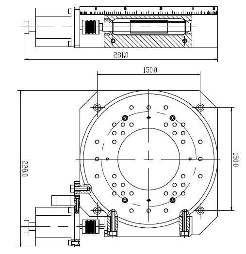 Motorized Rotary Positioning Stage View Motorized Rotary