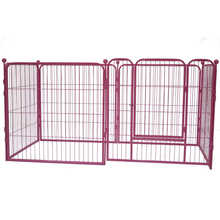 Designer fence cheap kennel for dogs