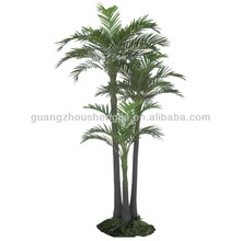 Artificial areca palm trees group plastic areca palm tree plastic betel nut tree