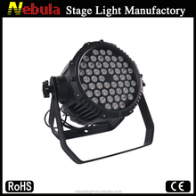 High Briteness 54*3w RGBW Led Waterproof Par Can