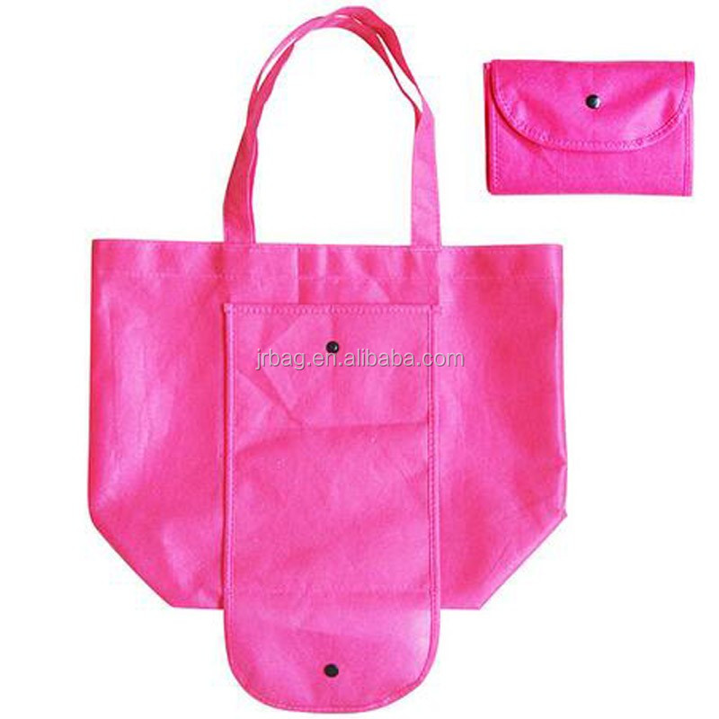 2017 cheap non woven Bag folding recyclable non woven shopping bag