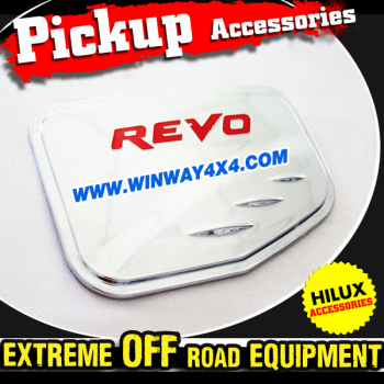 Chrome Fuel Tank Cover For 2015 Hilux Revo