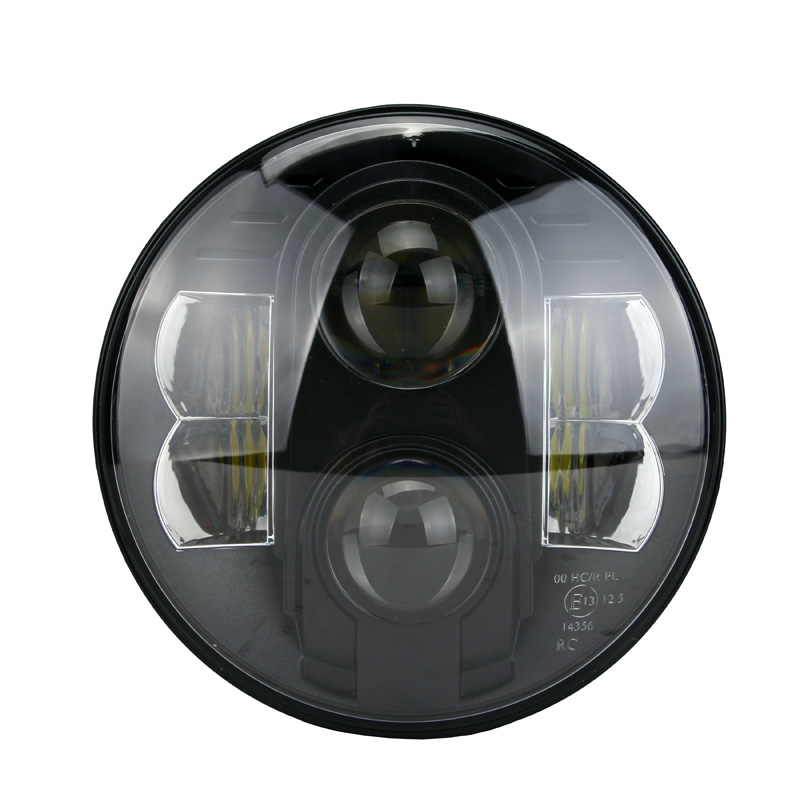 "DOT E13 approved 7"" led headlight"