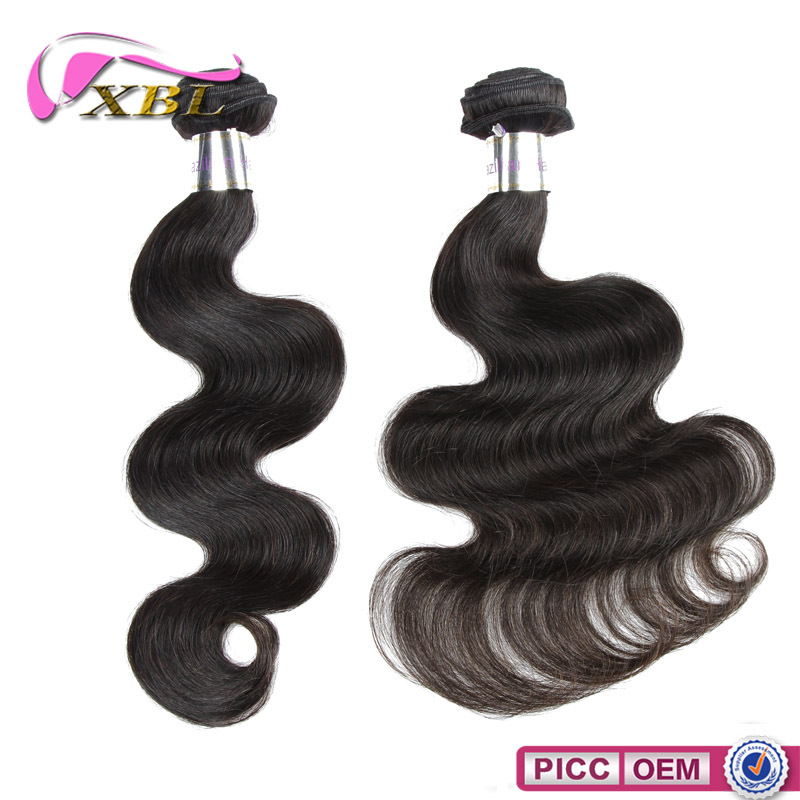 Gold Suppliers XBL Human Hair Bundles Body Wave Human Brazlian Hair Weft