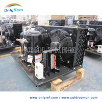 High power Open-type Tecumseh compressor condensing unit for cold room