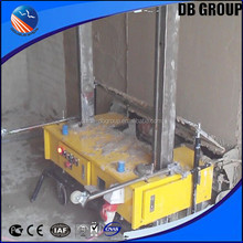 auto plastering machine/wall cement mortar plastering machine/light construction equipment