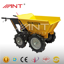 BY250X dvd loader with mini dumper muck truck electric hand power barrow