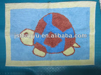 100% COTTON ANIMAL SHAPED BATH RUG/MAT BATHROOM MAT