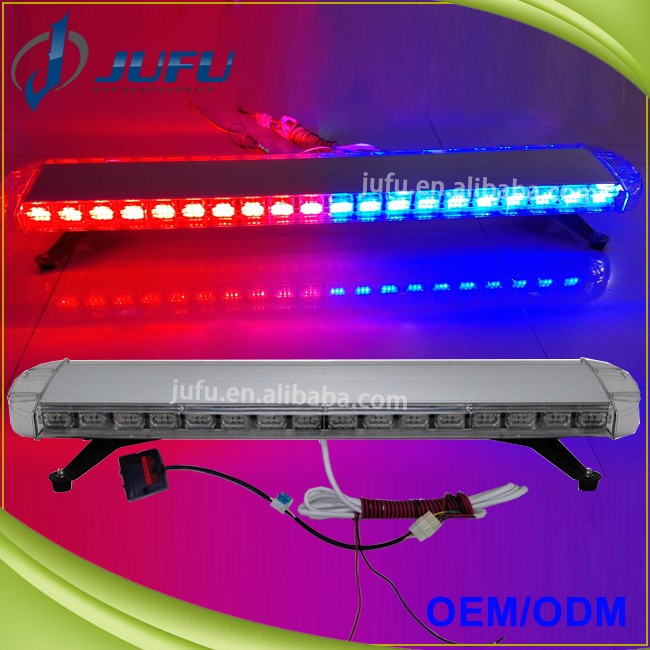 China supplier 38 inch 12V 24V hot sale car vehichle ambulance police light bar