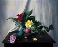 New Arrival Classicism Decorative Art Flower Painting Supply