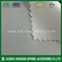 Top fuse 100% Polyester Woven interlining for garment for garment