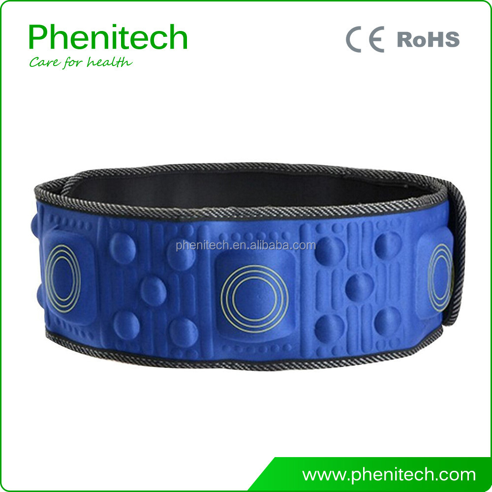2107 hot selling cheap electric weight loss vibration slimming massage belt with heating