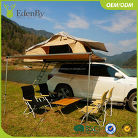camping and adventure roof tent 4x4 off road soft shell roof top tent