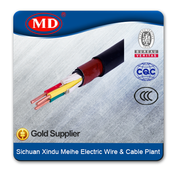 multi core cable power wire color code