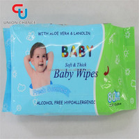 Soft Baby Wipes Fresh Scented Wet Wipes Healthy Baby Wipes With Aloe