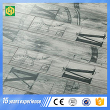 10mm thickness class32 AC4 wood texture surface grey color light color laminate flooring