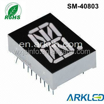 hot selling free sample,common andoe 16 segment led display for elevator,ARKLED