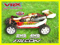 2WD rc 30cc engine gas car,Fully assembled 1 5 rc gas powered FALCON RTR buggy