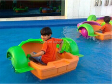 water park amuzement kids plastic hand paddle boat for sale D4