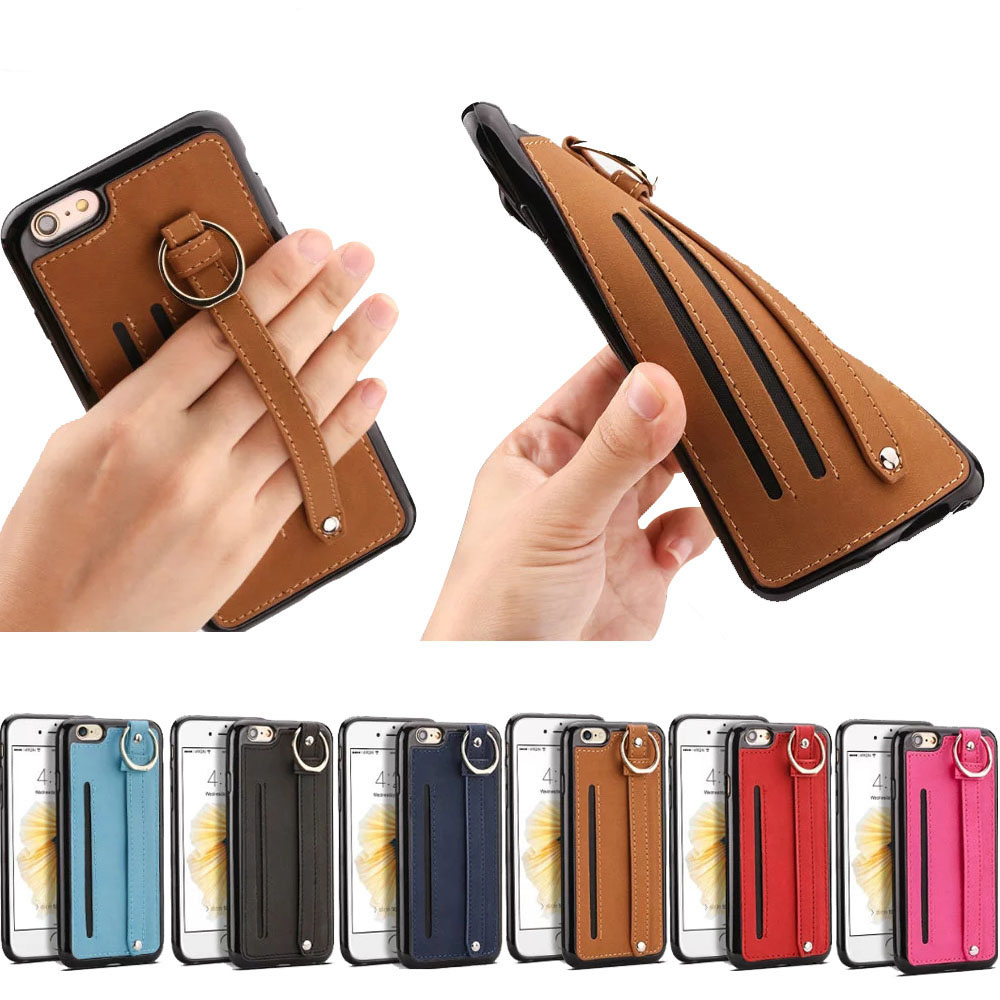 2017 New design smartphone leather case for iPhone 6 PC case For iPhone 7 mobile phone Case