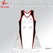 Sublimation Jerseys Women Sportswear Clothing Dresses Netball Uniforms