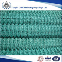 High Quality Galvanized Chain Link Fence/PVC Coated chaink link fence