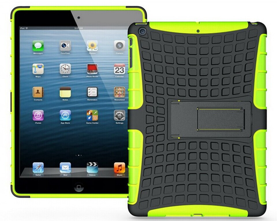 HYBRID HEAVY DUTY KICKSTAND CASE COVER STAND for ipad air