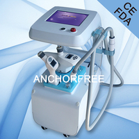 Vacuum Liposuction+Infrared Laser+Bipolar RF+Roller Massage Face Thiner Body Shaping Machine