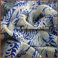 Floral Printed Factory Direct High Quality Custom Silk Georgette Fabric